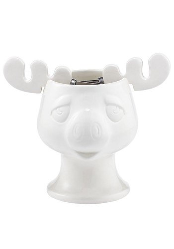 Christmas Vacation Moose Mug Bowl and Spreaders