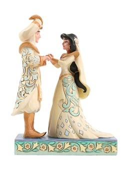 Aladdin & Jasmine Wedding Statue new