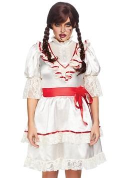 Women's Haunted Doll Dress Costume alt 2