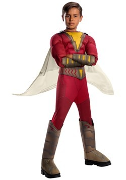 Child's Shazam! Deluxe Costume