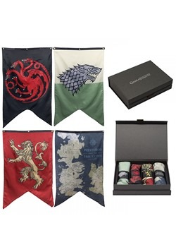 Game of Thrones 4 Banner Giftbox Set