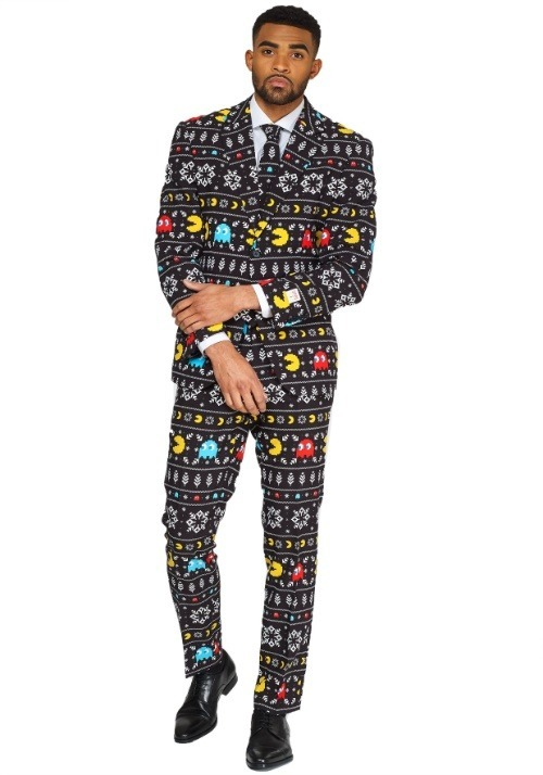 Opposuit Winter Pac Man Suit Men's