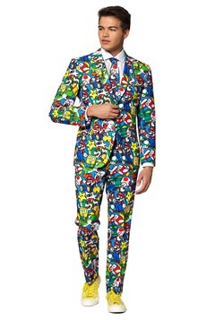Men's Opposuit Super Mario Suit
