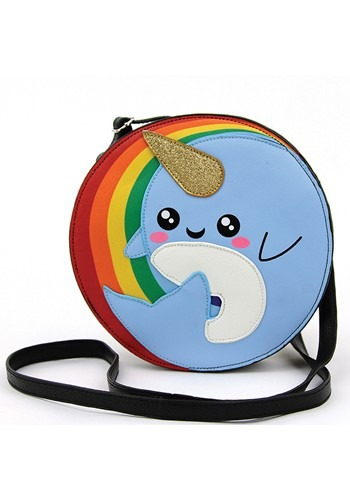 Narwhal Rainbow Crossbody Bag
