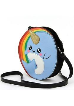 Narwhal Rainbow Crossbody Bag Alt 1