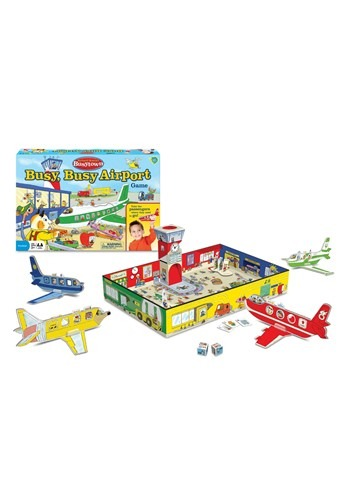 Richard Scarry's Busytown- Busy, Busy Airport Game