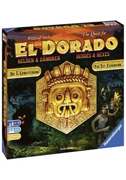 El Dorado: Heroes & Hexes The 1st Expansion Game
