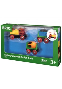 BRIO Battery Operated Action Train