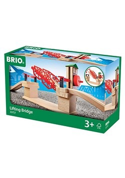 Wooden BRIO Lifting Bridge
