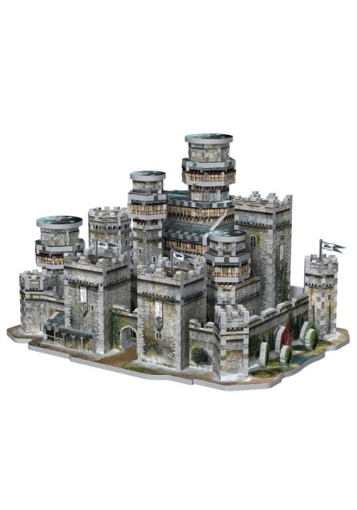Game of Thrones Winterfell 3D Puzzle5