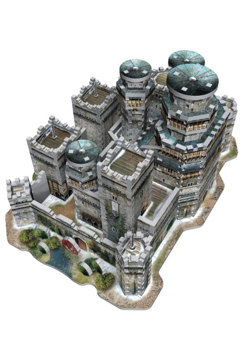 Game of Thrones Winterfell 3D Puzzle7