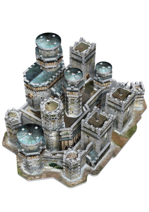 Game of Thrones Winterfell 3D Puzzle8