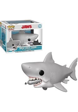 """Pop! Movies: JAWS- 6"""" Jaws w/ Diving Tank"""