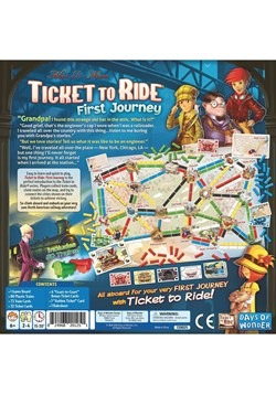 Ticket to Ride: First Journey Board Game
