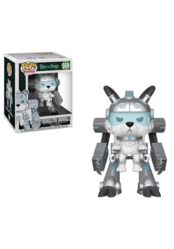 "Pop! Animation: Rick & Morty- 6"" Exoskeleton Snowball"
