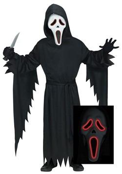 Men's E.L Ghost Face Costume 1