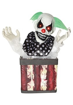 Halloween Animated Clown in Box