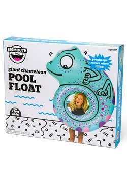 Giant Chameleon Pool Float Alt3