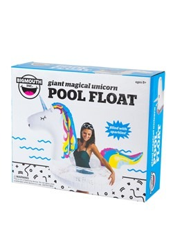 Giant Sparkly Unicorn Pool Float Alt3