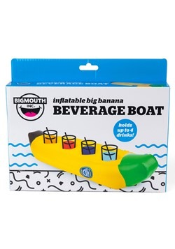 Banana Floating Beverage Boat Alt 3