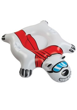 Giant Polar Bear Snow Tube