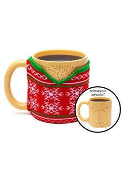 Ugly Sweater w/ removable Sweater Mug