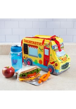 Taco' Bout Delicious Taco Truck Lunch Tote Alt 2