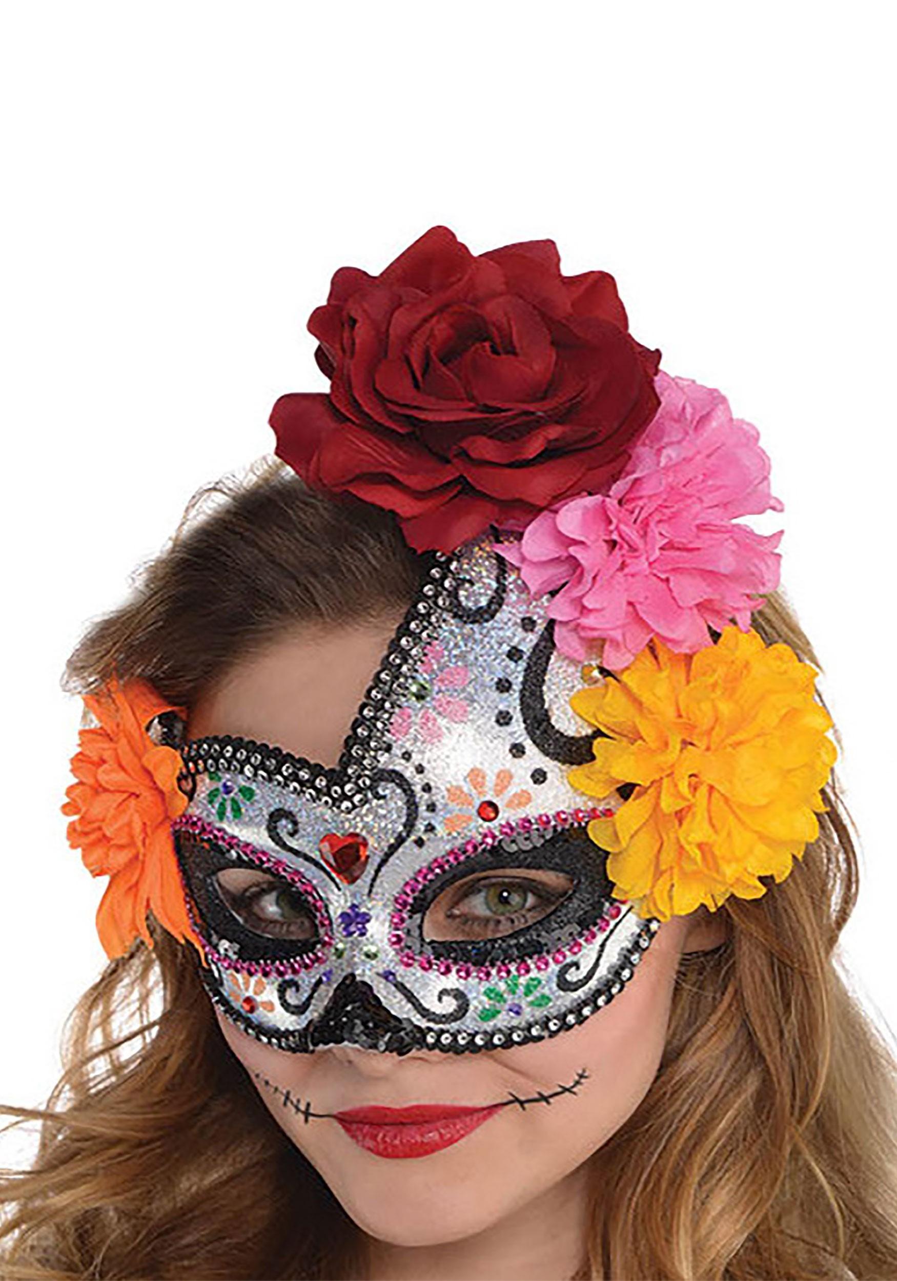 Sugar_Skull_Women's_Mask