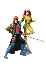 X-Men '92 Gambit and Rogue Two Pack ArtFX+ Statue