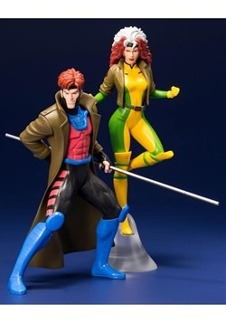 X-Men '92 Gambit and Rogue Two Pack ArtFX+ Statue Alt 2