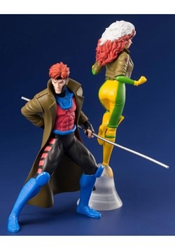 X-Men '92 Gambit and Rogue Two Pack ArtFX+ Statue Alt 3