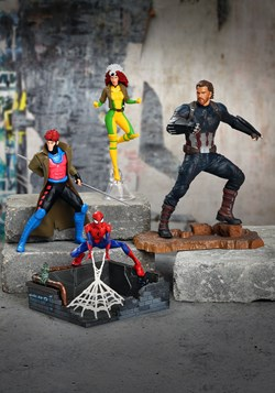 Statue X-Men '92 Gambit and Rogue Two Pack ArtFX+