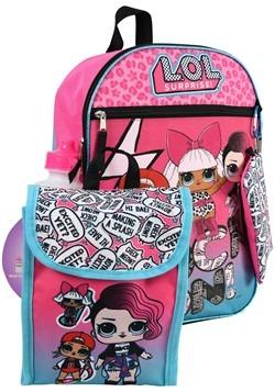 "LOL Surprise 16"" Backpack 5pc Set"