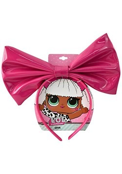 "LOL! Large 9"" Diva Patent Vinyl Bow"