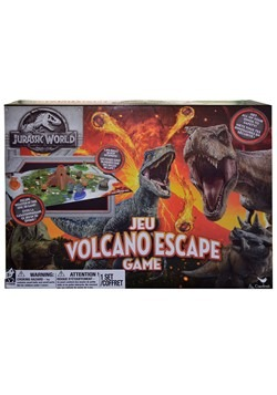 Jurassic World Volcano Escape Game