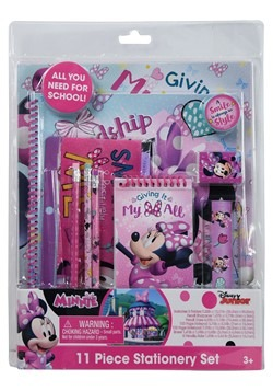 Minnie Mouse 11 Piece Stationery Set