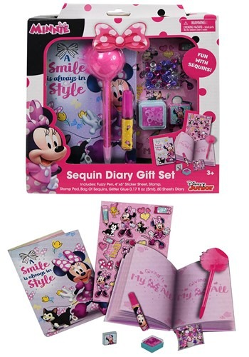 Minnie Mouse Diary Set in a Box