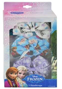 Frozen Disney 3pc Headwrap