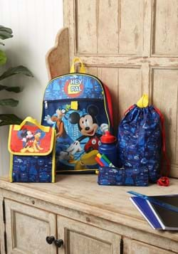 Mickey Mouse 5pc Backpack Set