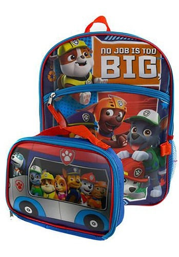 """Paw Patrol 16"""" Backpack Lunch Kit"""