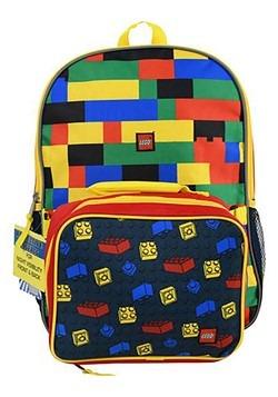"""Lego 16"""" Backpack Lunch Bag"""
