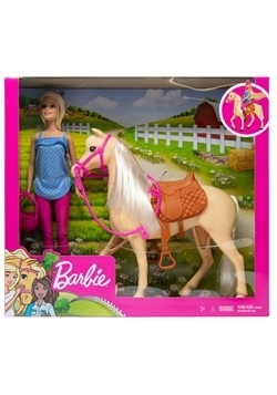 Barbie Doll w Horse Play Set