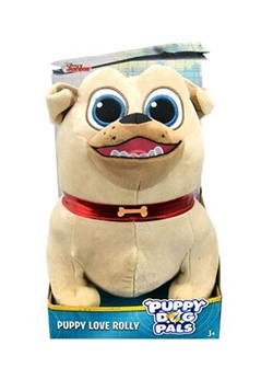Puppy Dog Pals Puppy Love Rolly Plush