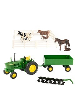 1:32 Scale John Deere 20 Piece Die Cast Value Set