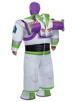 Toy Story Buzz Lightyear Adult Inflatable Costume Back