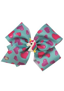 JoJo Siwa Blue Bow with Charm