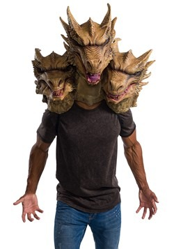 Godzilla King of the Monsters: King Ghidorah Latex Mask