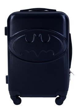 Black Batman Wheeled Carry-On Suitcase