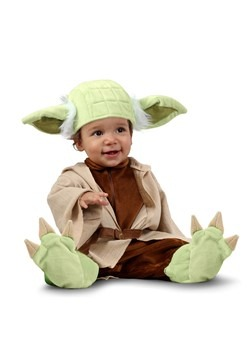 Star Wars Yoda Costume for an Infant