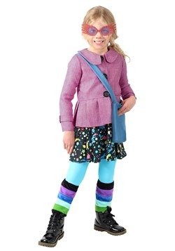 Harry Potter Luna Lovegood Girls Costume